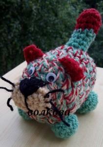 амигуруми кот