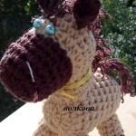 Лошадка амигуруми связанная крючком