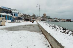 город-курорт зимой